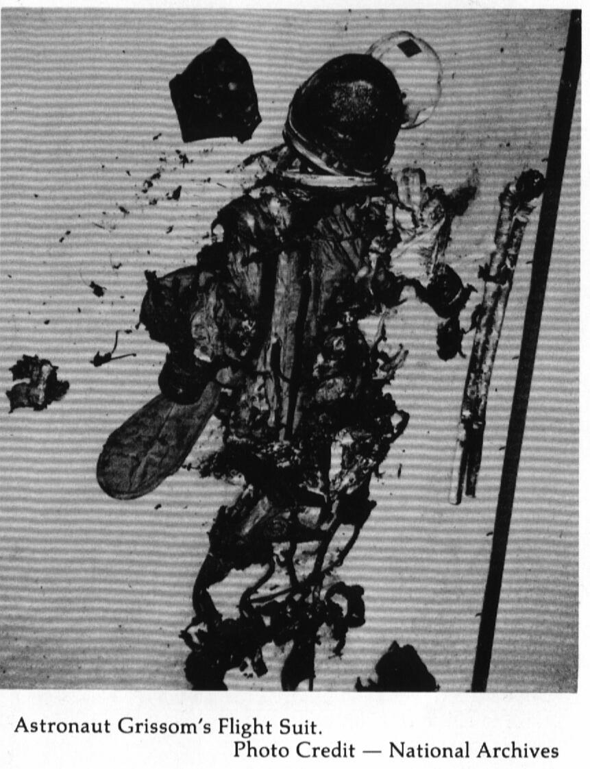 Apollo 1 Fire Autopsy - Pics about space